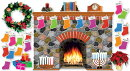 Holiday Hearth Bulletin Board