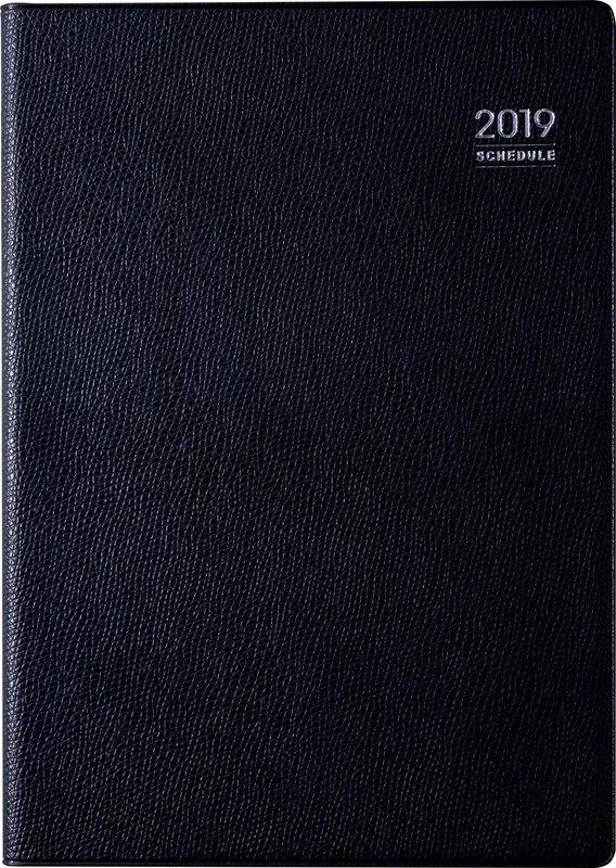 2019年度版 4月始まり No.914 デスクダイアリー 黒