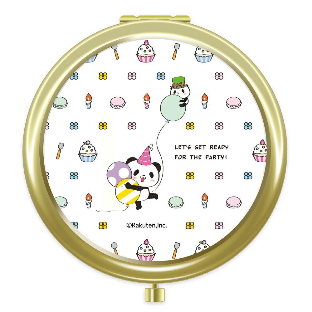 【ポイント交換限定】お買いものパンダ コンパクトミラー 〜5周年シリーズ〜