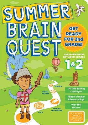 Summer Brain Quest: Between Grades 1 & 2 WORKBK-SUM BRN QUEST GRDS 1-2 (Summer Brain Quest) [ Workman Publishing ]
