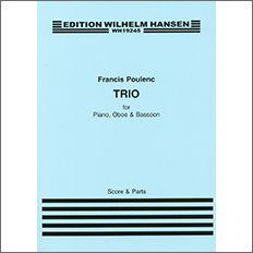 【輸入楽譜】プーランク, Francis: オーボエ、バスーンとピアノのための三重奏曲