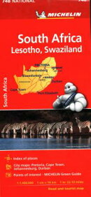 Michelin South Africa Map 748