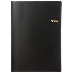 2019年4月はじまりNOLTY 能率手帳B5月間ブロック(黒)