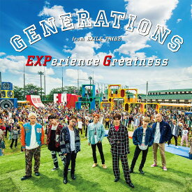 EXPerience Greatness (CD+DVD) [ GENERATIONS from EXILE TRIBE ]