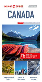 Insight Guides Travel Map Canada MAP-INSIGHT GUIDES TRAVEL MAP (Insight Travel Maps) [ Insight Guides ]