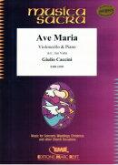 【輸入楽譜】カッチーニ, Giulio: アヴェ・マリア/チェロとピアノのための編曲/Valta編