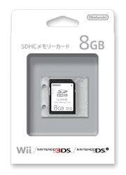 SDHCメモリーカード8GB