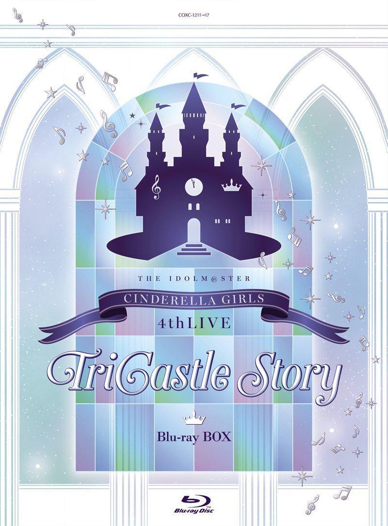 THE IDOLM@STER CINDERELLA GIRLS 4thLIVE TriCastle Story(初回限定生産)【Blu-ray】 [ CINDERELLA GIRLS ]