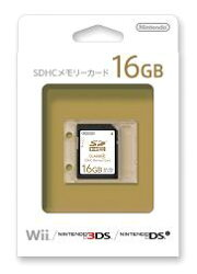 SDHCメモリーカード16GB
