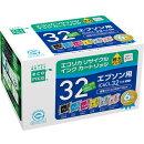 IC6CL32互換リサイクルインクカートリッジ 6色パック ECI-E326P/BOX エコリカ