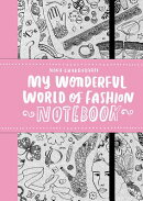 MY WONDERFUL WORLD OF FASHION NOTEBOOK(P【バーゲンブック】