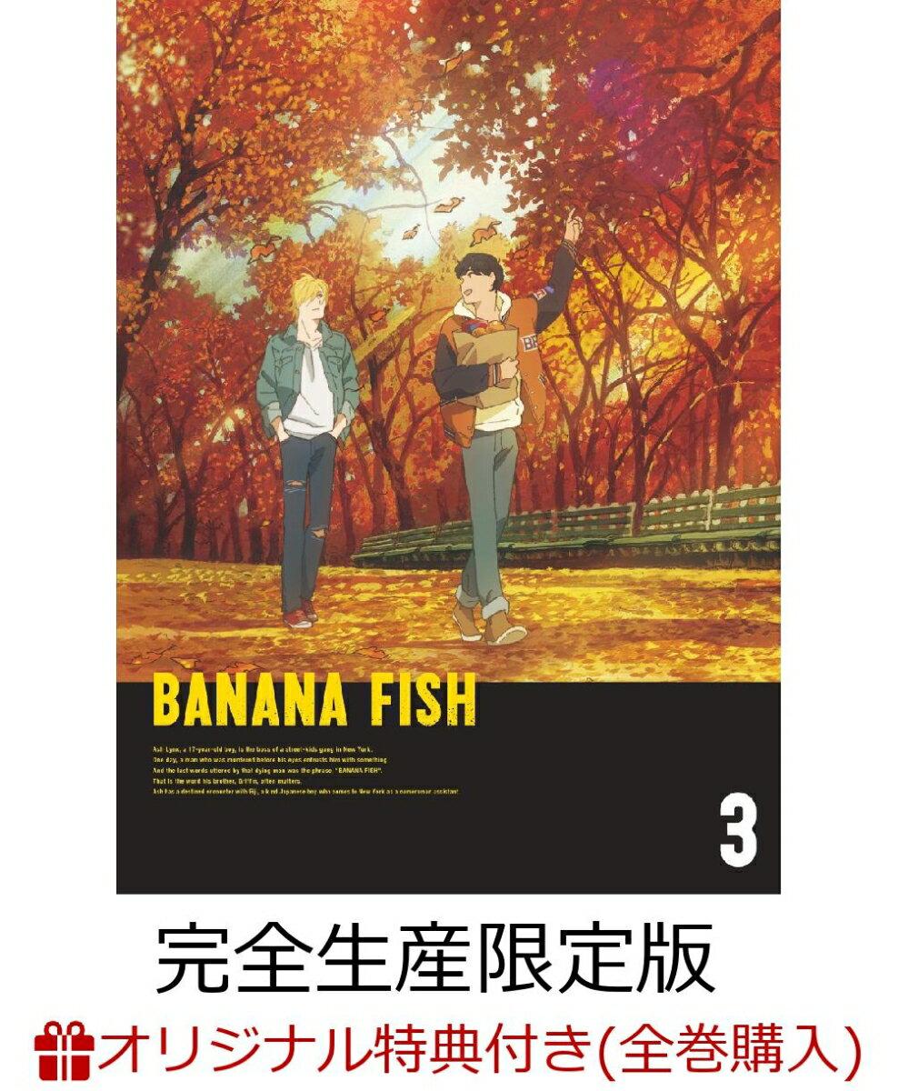 【楽天ブックス+店舖共通全巻購入特典対象】BANANA FISH DVD BOX 3(完全生産限定版) [ 内田雄馬 ]