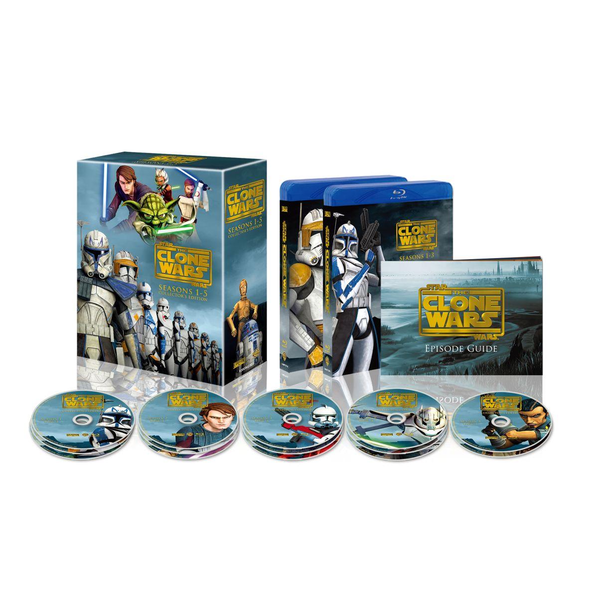 スター・ウォーズ:クローン・ウォーズ シーズン1-5 コンプリート・セット【Blu-ray】 [ マット・ランター ]