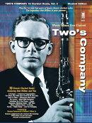 【輸入楽譜】ボブ・ウィルバー - Two's Company: 16のクラリネット二重奏曲: CD付