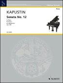 【輸入楽譜】カプースチン, Nikolai: ピアノ・ソナタ 第12番 Op.102