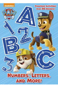 Numbers,Letters,andMore!(PawPatrol)NUMBERSLETTERS&MORE(PAWPA(Full-ColorActivityBookwithStickers)[GoldenBooks]