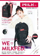 MILKFED. BACKPACK BOOK-RED ver.-