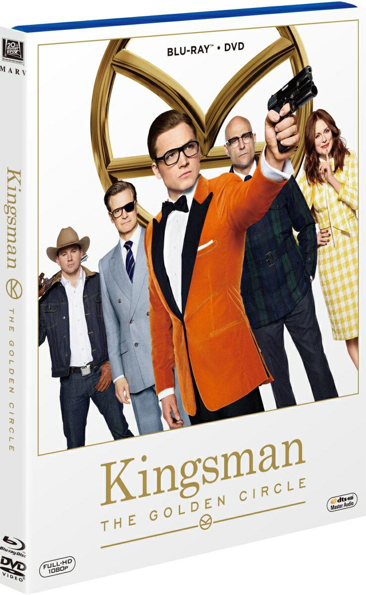 キングスマン:ゴールデン・サークル(ブルーレイ&DVD/2枚組)【Blu-ray】 [ タロン・エガートン ]