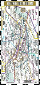 Streetwise Paris Metro Map - Laminated Paris Public Transportation Map - Minimetro: Folding Pocket &