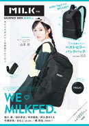 MILKFED. BACKPACK BOOK-BLACK ver.-