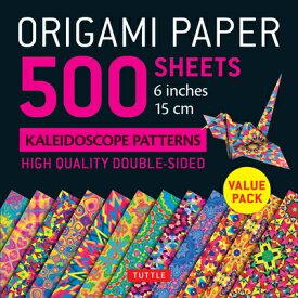 ORIGAMI PAPER KALEIDOSCOPE COLORS 500 [ . ]