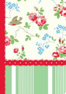 CATH KIDSTON ADDRESS BOOK (GREEN STRIPE)