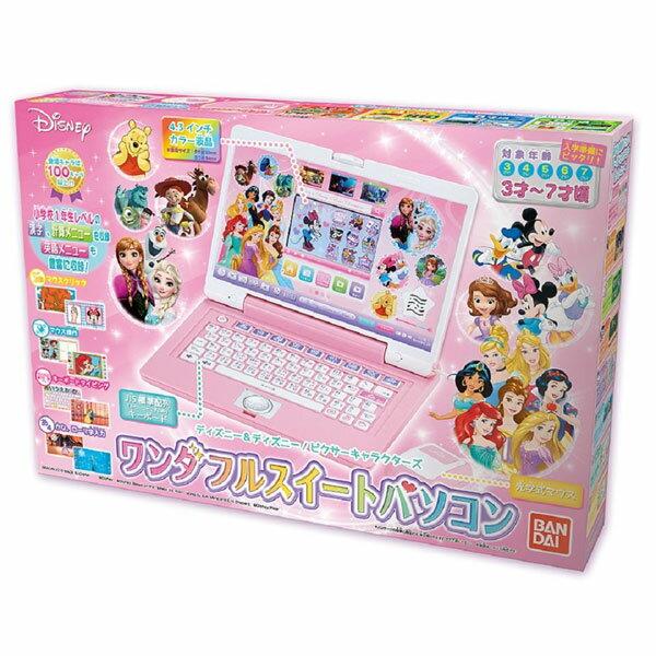 ディズニー&ディズニー/ピクサーキャラクターズ ワンダフルスイートパソコン