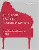 【輸入楽譜】ブリテン, Benjamin: モデラートとノクターン