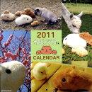 壁かけカピバラさん月めくりカレンダー(2011)