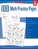 100 Math Practice Pages (Grade 3)