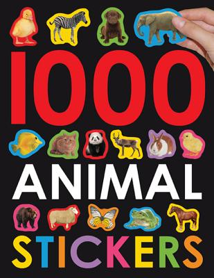 1000 ANIMAL STICKERS(P) [ ROGER PRIDDY ]