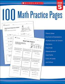 100 Math Practice Pages (Grade 5)