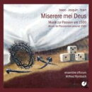 【輸入盤】Miserere Mei Deusmusik Zur Passion Um 1500: Rombach / Ensemble Efficium