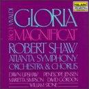 【輸入盤】 Magnificat / Gloria ショウ&アトランタ響&合唱団.