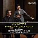 【輸入盤】ヴァイオリン・ソナタ全集 第1集〜第6番、第7番、第8番 アンドルー・ワン、シャルル・リシャール=アム…