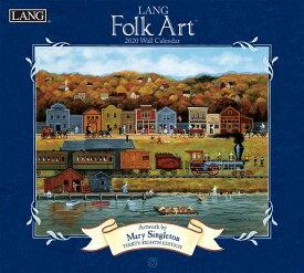 Lang Folk Art: 2020 Wall Calendar 2020 WALL CAL [ Lang Companies ]
