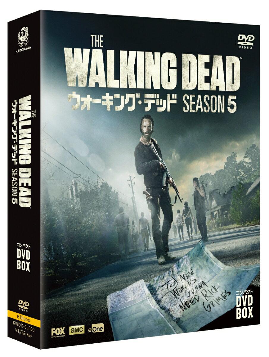 ウォーキング・デッド コンパクト DVD-BOX シーズン5 [ アンドリュー・リンカーン ]