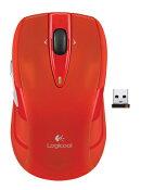 ロジクール ワイヤレスマウス m545 レッド M545RD