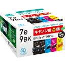 キヤノン BCI-7E+9/5MP対応 エコリカ リサイクルインクカートリッジ 5個パック