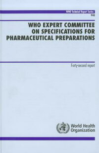 WhoExpertCommitteeonSpecificationsforPharmaceuticalPreparations