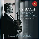 【輸入盤】無伴奏ヴァイオリンのためのパルティータ第2番、第3番、ソナタ第3番 セバスチャン・ボーレン