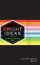Bright Ideas 2019 12-Month Planner