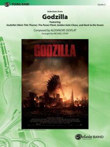 【輸入楽譜】デプラ, Alexandre: 映画「GODZILLA ゴジラ」セレクション(2014年ハリウッド版)/ストーリー編曲: スコアとパート譜セット [ デプラ, Alexandre ]