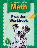 Houghton Mifflin Math (C) 2005: Practice Workbook Grade 1