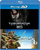 ターミネーター:新起動/ジェニシス&ミュータント・タートルズ 3D ベストバリューBlu-rayセット【3D Blu-ray】