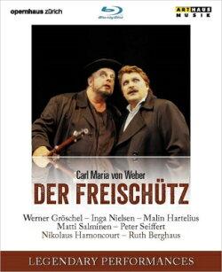 【輸入盤】『魔弾の射手』全曲 ベルクハウス演出、アーノンクール&チューリッヒ歌劇場、ザイフェルト、サルミネン…
