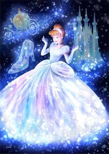 ディズニーステンドアートジグソーパズル 魔法の光に包まれて(シンデレラ) 【266ピース(18.2x25.7cm)】