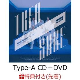 【先着特典】TREASURE EP.EXTRA:Shift The Map (Type-A CD+DVD) (オリジナルB3ポスター付き) [ ATEEZ ]