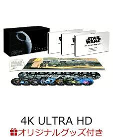 【楽天ブックス限定】スター・ウォーズ スカイウォーカー・サーガ 4K UHD コンプリートBOX(数量限定)+オリジナル4連アクリルキーホルダー+コレクターズカード3種セット【4K ULTRA HD】 [ マーク・ハミル ]