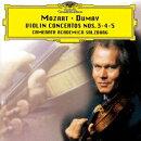 モーツァルト:ヴァイオリン協奏曲第3番・第4番・第5番